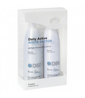 Erayba Pack Daily Active White Factor (250ml x 2uds)