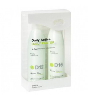 Erayba Pack Daily Active Daily Factor (250ml x 2uds)