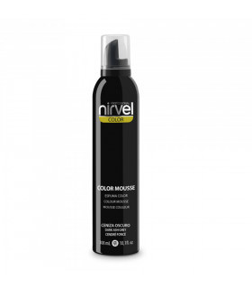 Nirvel Color Mousse Ceniza Oscuro 300ml