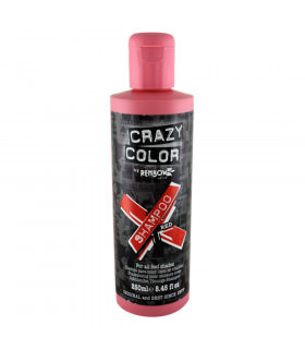 Crazy Color Shampoo Red 250ml