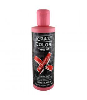 Crazy Color Shampoo Red 250ml