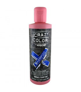 Crazy Color Shampoo Blue 250ml