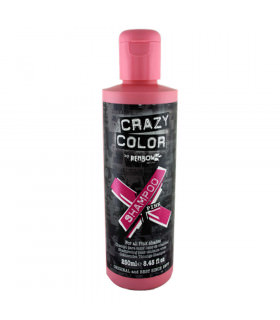 Crazy Color Shampoo Pink 250ml