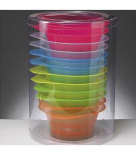 Bifull Bote Bowls de Tinte Colores 12uds
