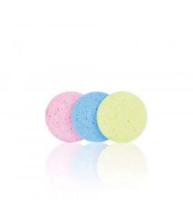 Bifull Set Esponjas Desmaquillar 80mm Circle Colours 3uds