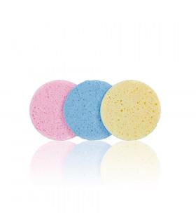 Bifull Set Esponjas Desmaquillar 110mm Circle Colours 3uds