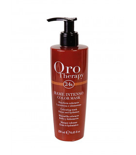 Fanola Oro Therapy Mascarilla de Color Rojo Intenso 250ml