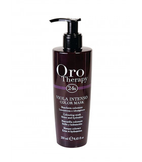 Fanola Oro Therapy Mascarilla de Color Violeta 250ml