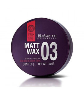 Salerm Pro-line 03 Matt Wax 50ml