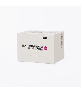 Bifull Papel Permanentes Pequeño 75 x 50mm 100uds