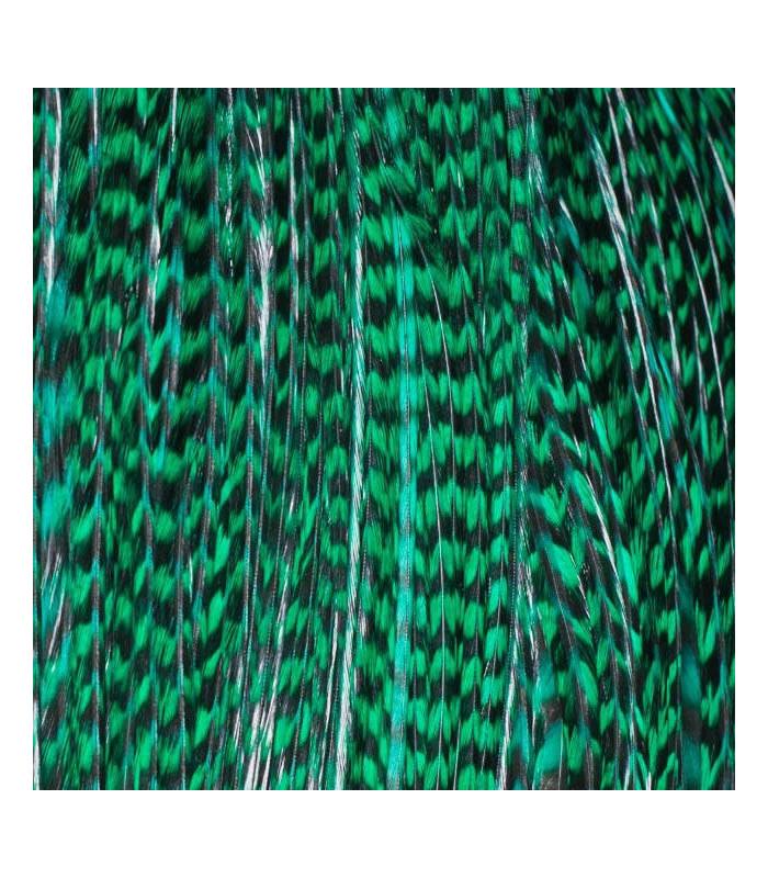 Pack 3 Plumas L Verde Esmeralda