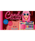 Candy Colors Blue Gummy
