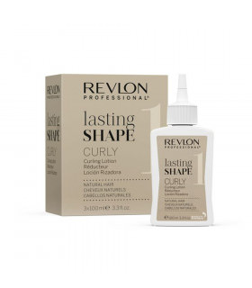 Revlon Lasting Shape Curly Curling Lotion Natural Hair (3 x 100ml)