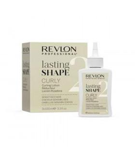 Revlon Lasting Shape Curly Curling Lotion Sensitised Hair (3 x 100ml)
