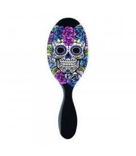 Wet Brush Pro Cepillo Sugar Skull Purple