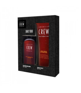 American Crew Daily Duo: Shampoo + Firm Hold Gel