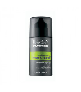 Redken For Men Work Work Hard Molding Paste 100ml