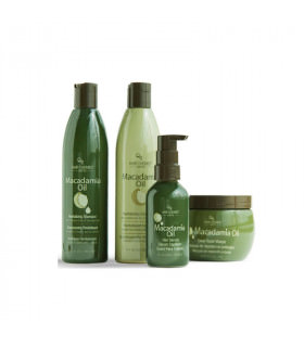 Hair Chemist Pack Macadamia Oil: Champú (295ml) + Acondicionador (295ml) + Mascarilla Reparadora (227gr) + Serum (118ml)