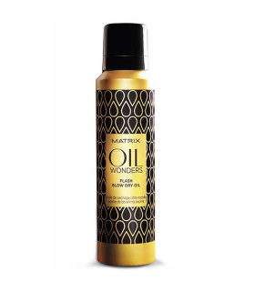 Matrix Total Results Oil Wonders Flash Blow Dry Oil 185ml