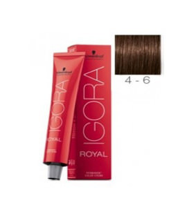 Schwarzkopf Igora Royal 4-6 Castaño Medio Marrón 60ml