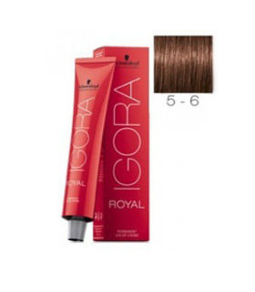 Schwarzkopf Igora Royal 5-6 Castaño Claro Marrón 60ml