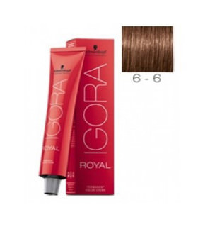 Schwarzkopf Igora Royal 6-6 Rubio Oscuro Marrón 60ml