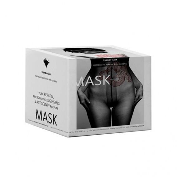 Trendy Hair Maskelastic Keratin con Ginseng 500ml