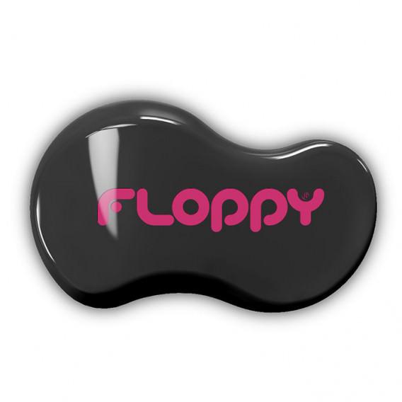Cepillo Floppy - Negro - Fucsia