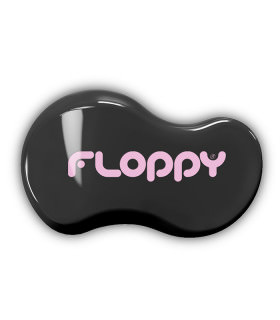 Cepillo Floppy - Negro - Rosa