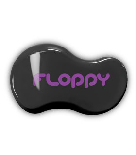 Cepillo Floppy - Negro - Violeta