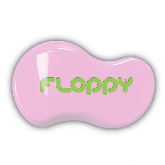 Cepillo Floppy - Rosa - Verde