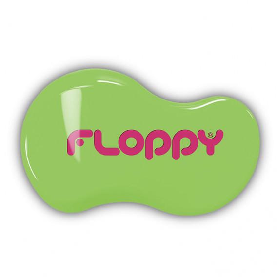 Cepillo Floppy - Verde - Fucsia