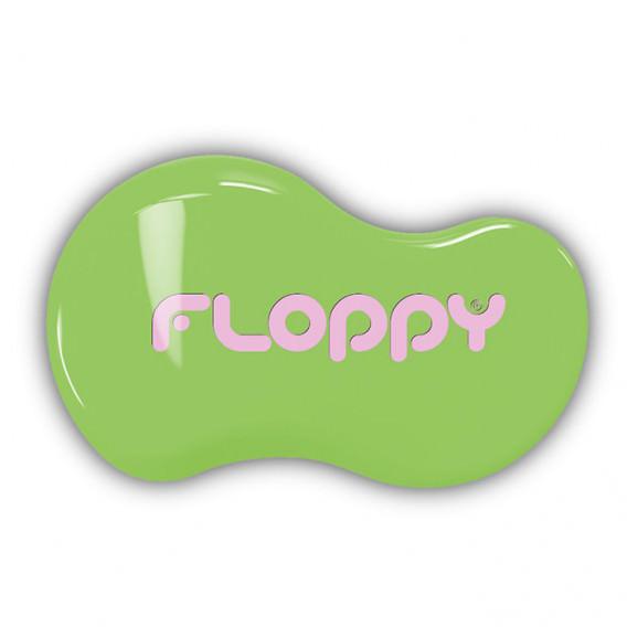 Cepillo Floppy - Verde - Rosa