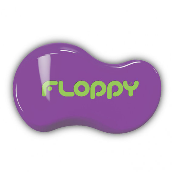 Cepillo Floppy - Violeta - Verde