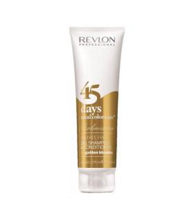 Revlonissimo 45 Days Champú 2en1 Total Color Care Golden Blondes 275ml