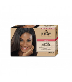Dr Miracles Kit No-lye Relaxer Regular (1 aplicación)