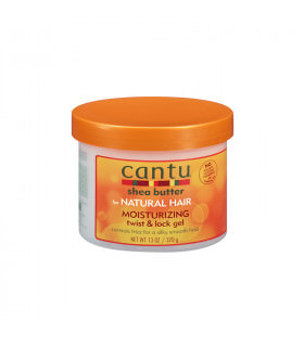 Cantu Shea Butter Natural Hair Moisturizing Twist & Lock Gel 370gr