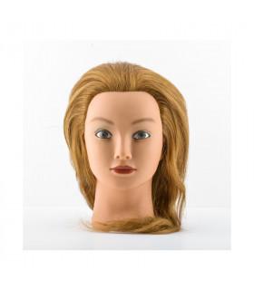 """Bifull Cabeza Maniquí Mujer Rubia 18"""" 45cm"""