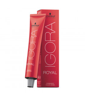 Schwarzkopf Igora Royal 8-77 Rubio Claro Cobrizo Intenso 60ml