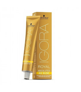 Schwarzkopf Professional Igora Royal Absolutes Age Blend 6-580 Rubio Oscuro Dorado Rojo 60ml
