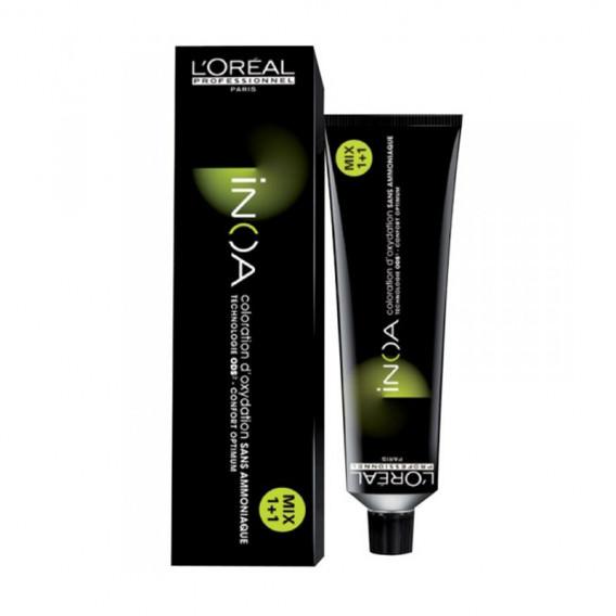 L'Oréal Professionnel Inoa 6,07 Rubio Oscuro Natural Frío 60ml