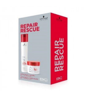 Pack Duo Schwarzkopf BC Repair Rescue Shampoo (250ml) + Treatment (200ml)