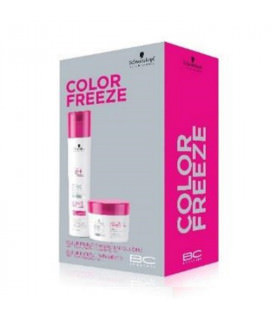 Pack Schwarzkopf BC Color Freeze: Champú enriquecido (250ml) + Tratamiento (200ml)