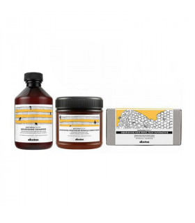 Davines Natural Tech Trio Nourishing (Cabello Seco/Dañado): Champú (250ml) + Acondicionador (250ml) + Tratamiento Jalea Real