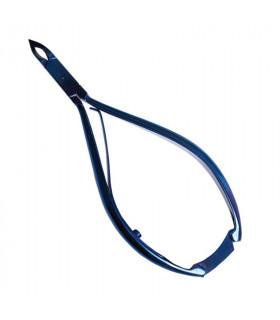 Eurostil Alicate Corta Cutículas 12cm Azul Titanio