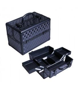 Eurostil Maleta Aluminio Negra Útiles