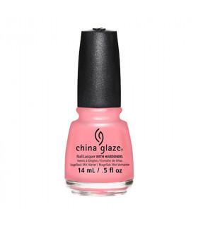 China Glaze Esmalte Color Pink Or Swim 14ml