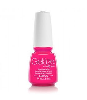China Glaze Gelazé Pink Voltage 9,75ml