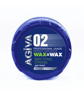 Agiva Styling Hair Wax 02 Strong 175ml