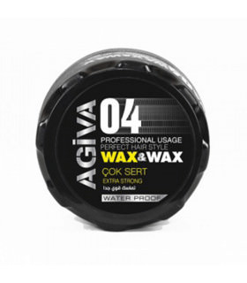 Agiva Styling Hair Wax 04 Extra Strong 175ml